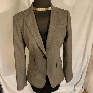 Banana republic wool blend stretch blazer 4
